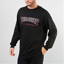 Tee Trasher Black L/S