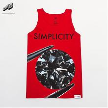 Diamond SIMPLICITY II TANK TOP IN RED