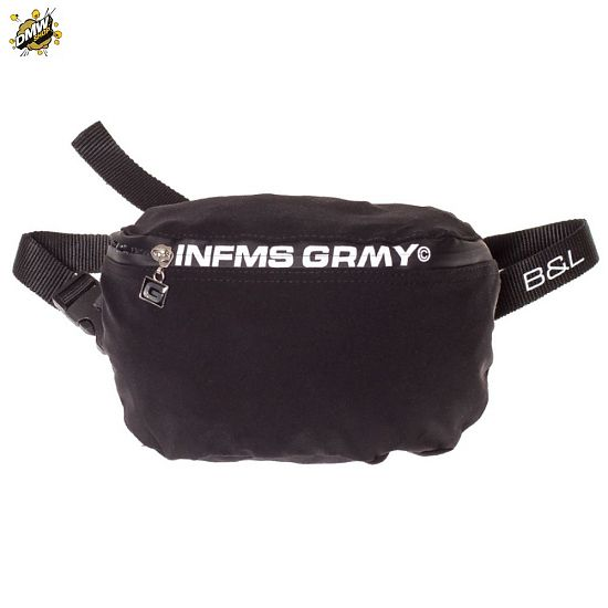 Grimey  GRIMEY COUNTERBLOW FANNY PACK SS18 BLACK