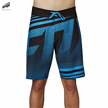 Static Boardshort  Electric Blue