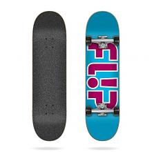 Skate completo Team Outlined Light Blue 7,25