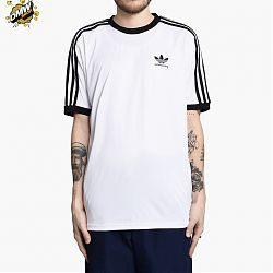 Camiseta Clima Club White Black
