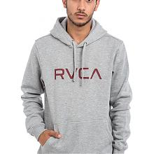 BIG RVCA HOOD Athletic Heath