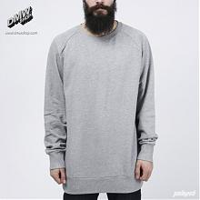 Crew Staple grey melange