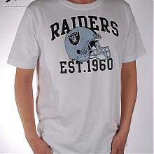 Pitchout T-Shirt Raiders White Black