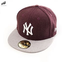 59Fifty New York Yankees Red Day Light Grey White