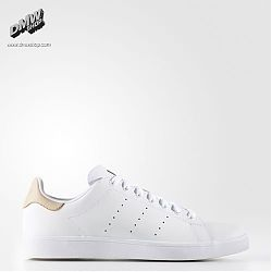 STAN SMITH VULC White/Pale Nude/Gold