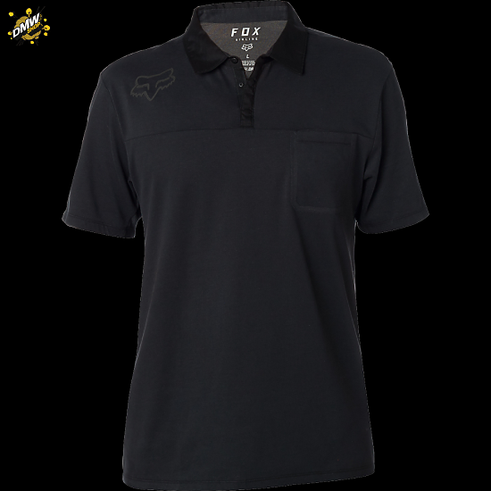Fox Head Redplate 360 Tech Polo Black