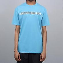Bar Cross Tee  Carolina Blue