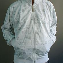 Big Ballin Track Jacket white/silver
