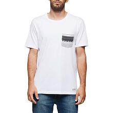 PIERCE CREW T-SHIRT Opticwhite