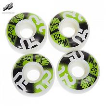 Wheels Squared Green 52 mm