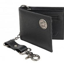 Chain Dot Wallet Black