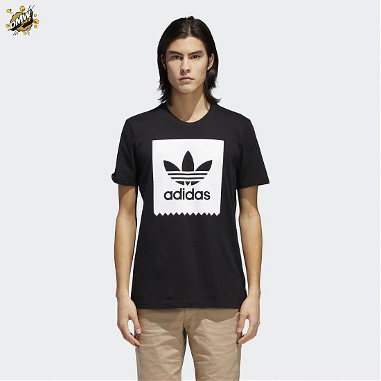 Adidas Originals SOLID BB T BLACK/WHITE