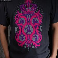5th element 2011 teestealth grey/rasberry/lilac